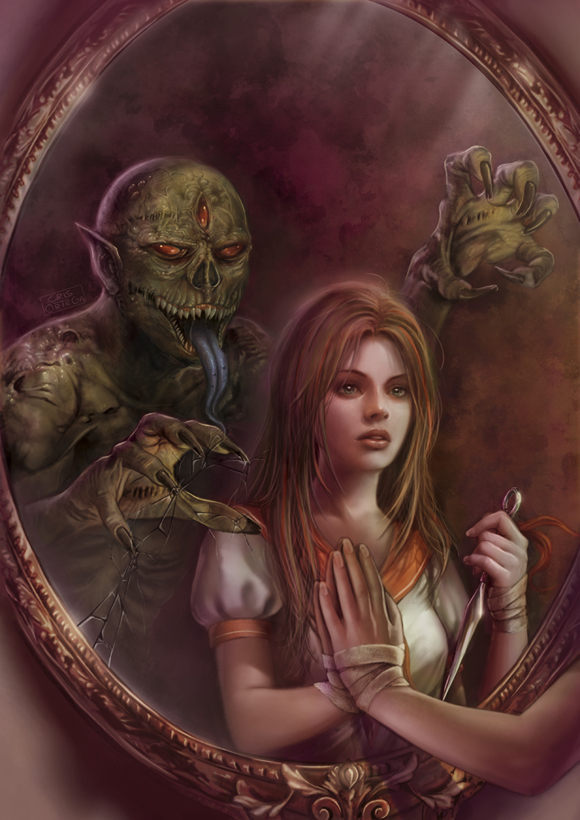 Cronicas de sombras: El espejo